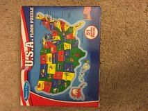 USA puzzle in Oswego, Illinois