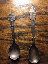 Dutch Sugar Spoons 1936, 1934 in Joliet, Illinois