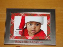 baby's 1st Xmas frame in Naperville, Illinois