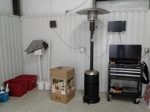 Patio heater in The Woodlands, Texas