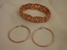 bracelet & hoops in Plainfield, Illinois