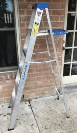Werner 6 Foot Tall Aluminum Step Ladder w/Tray in Kingwood, Texas