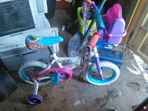 Small child/toddler bike with training wheels in Camp Lejeune, North Carolina