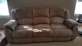 3 piece sofa,love seat and recliner in Joliet, Illinois