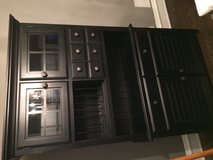 Large black China cabinet in Joliet, Illinois
