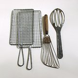 VTG KITCHEN TOOLS: 2 GRATERS, 2 WHIPS LOT(4 pcs) in Aurora, Illinois
