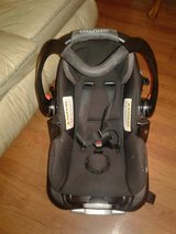 carseat plus stroller black and gray in Byron, Georgia