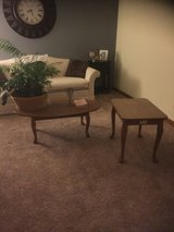 coffee table and end table in Plainfield, Illinois