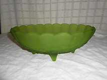Vintage OVAL Footed FRUIT BOWL Dish in Travis AFB, California