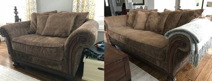 Bernhardt Sofa and Chair and 1/2 in Joliet, Illinois