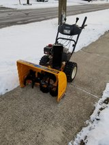 """28"""" Cubcadet Snowblower with electric start in Joliet, Illinois"""