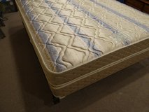 Sealy Posturepedic Queen mattress, box spring and frame in Conroe, Texas