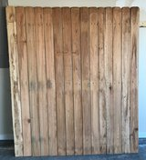 """6 ft. H x 62"""" W Pressure-Treated 4 in. Dog-Ear Fence Panel - $10 (Byron) in Perry, Georgia"""