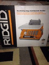 Ridgid Oscillating Edge Belt/Spindle Sander in Perry, Georgia