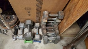 Steel & Plastic Plate Weights, Dumbells, Bars in Fort Campbell, Kentucky