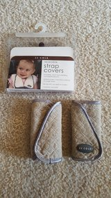 JJ Cole Car Seat Carseat Stroller Strap Covers in Chicago, Illinois