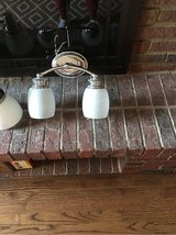 2 Light Bathroom Fixture in Oswego, Illinois