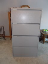 Meridian 4 Drawer Lateral filing Cabinet in Oswego, Illinois