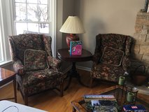 Pair of Walter E. Smithe Wing Back Chairs in Glendale Heights, Illinois