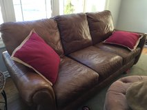 Leather Sofa in Glendale Heights, Illinois