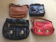 4 Leather purses in Tinley Park, Illinois
