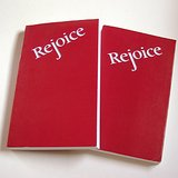 2 REJOICE CATHOLIC HYMNALS Pbk 1989 Paluch in Glendale Heights, Illinois
