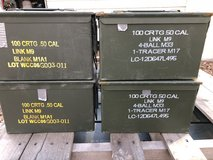 50 cal ammo cans(Reduced) in Leesville, Louisiana