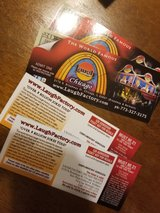 4 tickets to Chicago Laugh Factory in Joliet, Illinois