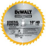dewalt 40 tooth saw blade new (only 1 on hand) in Kingwood, Texas
