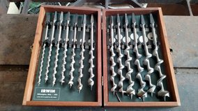 Irwin Auger Drill Bits 13 pieces in Fort Riley, Kansas