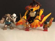 Lego Chima 70144 Lava's Fire Lion in Okinawa, Japan