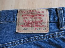 Men's Levi's blue jeans in Ramstein, Germany