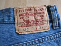 Men's Levi's 560 blue jeans in Ramstein, Germany