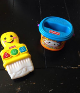 FISHER-PRICE LAUGH & LEARN LEARNING PAINT BRUSH in Algonquin, Illinois