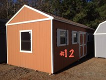 12x30 Tiny Home Utility Shed Storage Building REDUCED!! in Moody AFB, Georgia