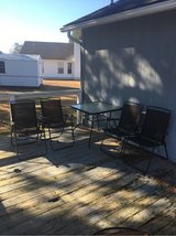 Patio set - 4 chairs & table in Camp Lejeune, North Carolina