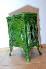 French wood stove in Ramstein, Germany