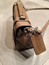 New Coach Purse--Python collection, never used!! in Ramstein, Germany