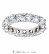 ***BRAND NEW***5 CTTW CZ Eternity Ring***SZ 9 in Kingwood, Texas