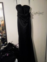 Strapless Beaded Black Dress in Fort Polk, Louisiana