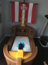 Little Tikes Toddler Pirate bed in Kingwood, Texas