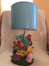Finding Nemo and friends table lamp in Oswego, Illinois