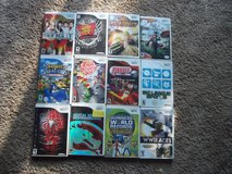 Wii Game Lot of 12 in Byron, Georgia