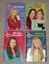NEW Lot of 4 Disney Hannah Montana Miley Cyrus Hard Cover Books in Oswego, Illinois