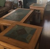 Coffee Table & 2 End Tables Solid Wood in Alamogordo, New Mexico