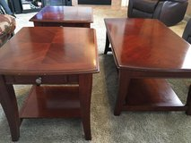 Coffee Table with two end tables in Oswego, Illinois