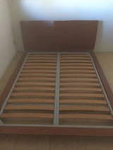 Japanese Style Floor Queen Bed Frame in Yucca Valley, California