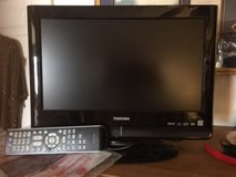 """15 """" color toshiba with DVD player w/remote in Oswego, Illinois"""