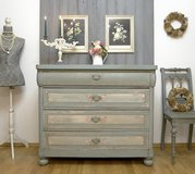 Magnificent Secretary Dresser Chest Of Drawers Shabby Chic in Ramstein, Germany