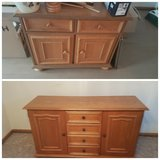 Solid Wood dresser set in Ramstein, Germany